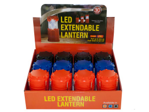 LED Extendable Lantern Countertop Display