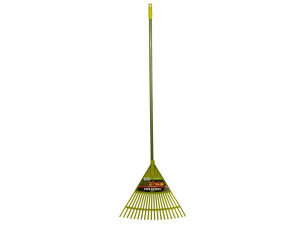 Garden Rake with Plastic Spokes