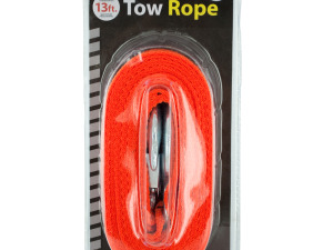 Nylon Tow Rope with Metal Hooks