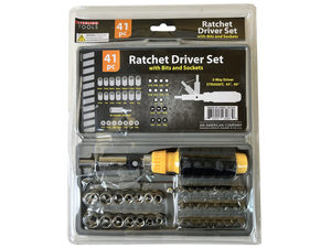 Wholesale: Ratchet Driver Set with Carrying Case