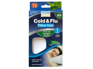 Eucalyptus Menthol Cold & Flu Pillow Case