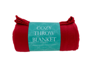 Cozy Polar Fleece Throw Blanket