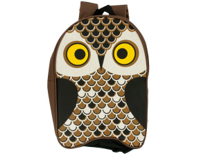 Owl Kid Canvas Backpack