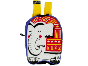 Circus Elephant Kid Canvas Backpack