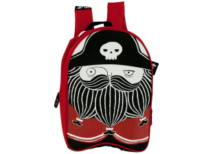 Pirate Kid Canvas Backpack