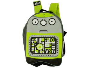 Robot Kid Canvas Backpack