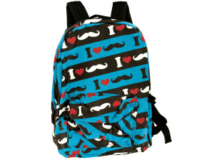 Heart Stache Backpack