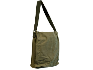 Olive Green Messenger Bag