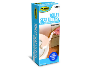 Wholesale: Self-Adhesive Toilet Seat Lifters
