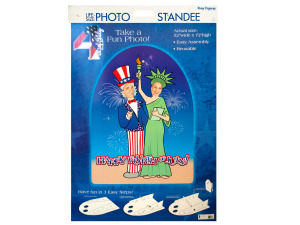 Wholesale: 4th of July Life Size Photo Stand