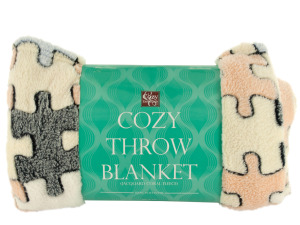 Super Soft Jacquard Coral Fleece Blanket