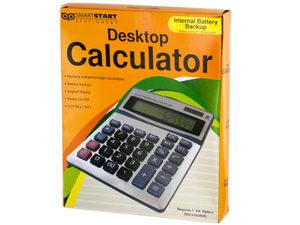 Wholesale: Large Display Desktop Calculator