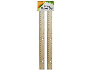Wooden Ruler Set
