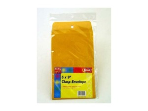 Small Manila Clasp Envelopes