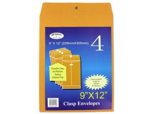 Wholesale: Medium Manila Clasp Envelopes