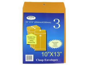 Wholesale: Large Manila Clasp Envelopes