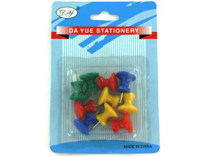 Wholesale: Large push pins, assorted colors