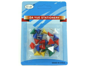 Wholesale: Triangle shape push pins