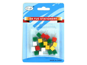 Wholesale: Square push pins 3065