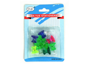 Wholesale: Large push pins in assorted colors
