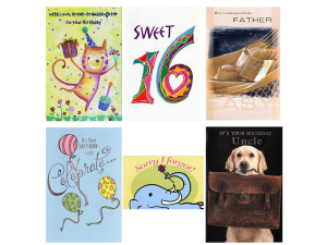 Wholesale: Greeting card assortment