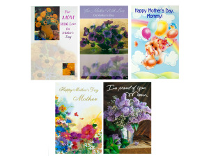 Wholesale: Mother's Day Card Assortment