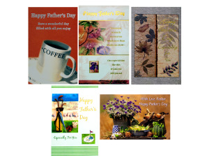 Wholesale: Fathers day card english