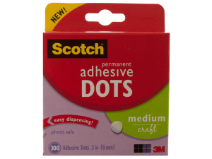Wholesale: Scotch Permanent Medium Adhesive Dots
