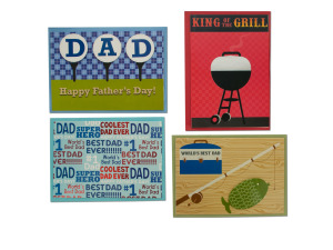 Wholesale: Handmade Cards for Dad Set