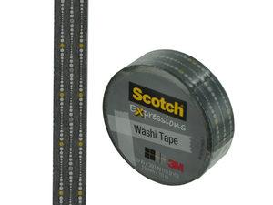 Wholesale: Scotch Expressions Gray Dots Washi Tape