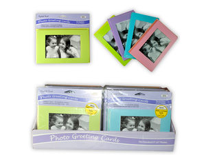 """Wholesale: 4 Count 4""""x6"""" Greeting Cards in Countertop Display"""