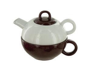 Wholesale: 2 in 1 Ceramic Tea Pot & Cup Gift Set