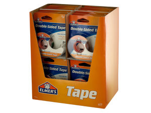 Wholesale: Elmer's Double-Sided Tape Countertop Display