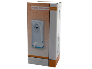 Bedside Torch Alarm Clock
