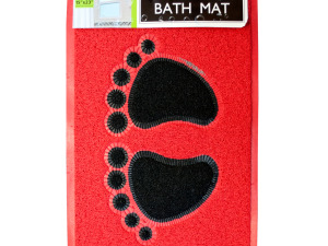 Footprints Massaging Bath Mat