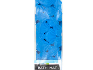 Sea Shell Bath Mat with Suction Cups