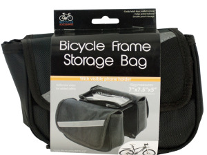 Bicycle Storage Bag with Phone Holder