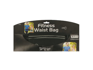 Multi-Compartment Fitness Waist Bag