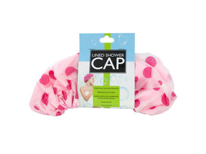 Wholesale: Microfiber Lined Shower Cap