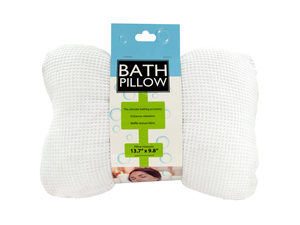 Wholesale: Soft Cloth Bath Pillow with Suction Cups