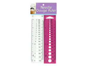 Wholesale: Needle Gauge Ruler Set