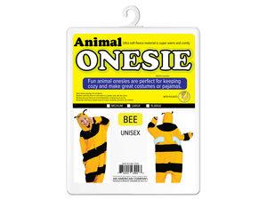 Wholesale: Bee & Frog Adult Unisex Animal Onesie