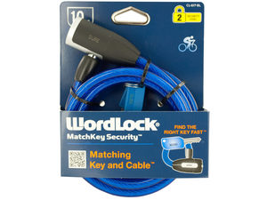 WordLock MatchKey Security Bike Lock