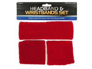 Wholesale: Athletic Headband & Wristbands Set