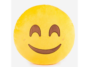 Emoticon Happy Face Plush Pillow