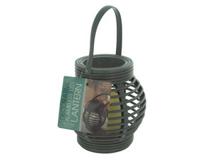 Decorative Beehive Style Lantern with LED Candle