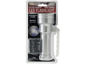 Extra Bright LED Flashlight with Handle