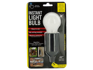 Wholesale: Instant LED Light Bulb with Pull Cord