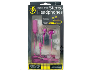 Hands-Free Stereo Headphones