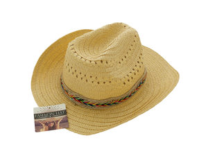 Western Style Woven Fashion Hat